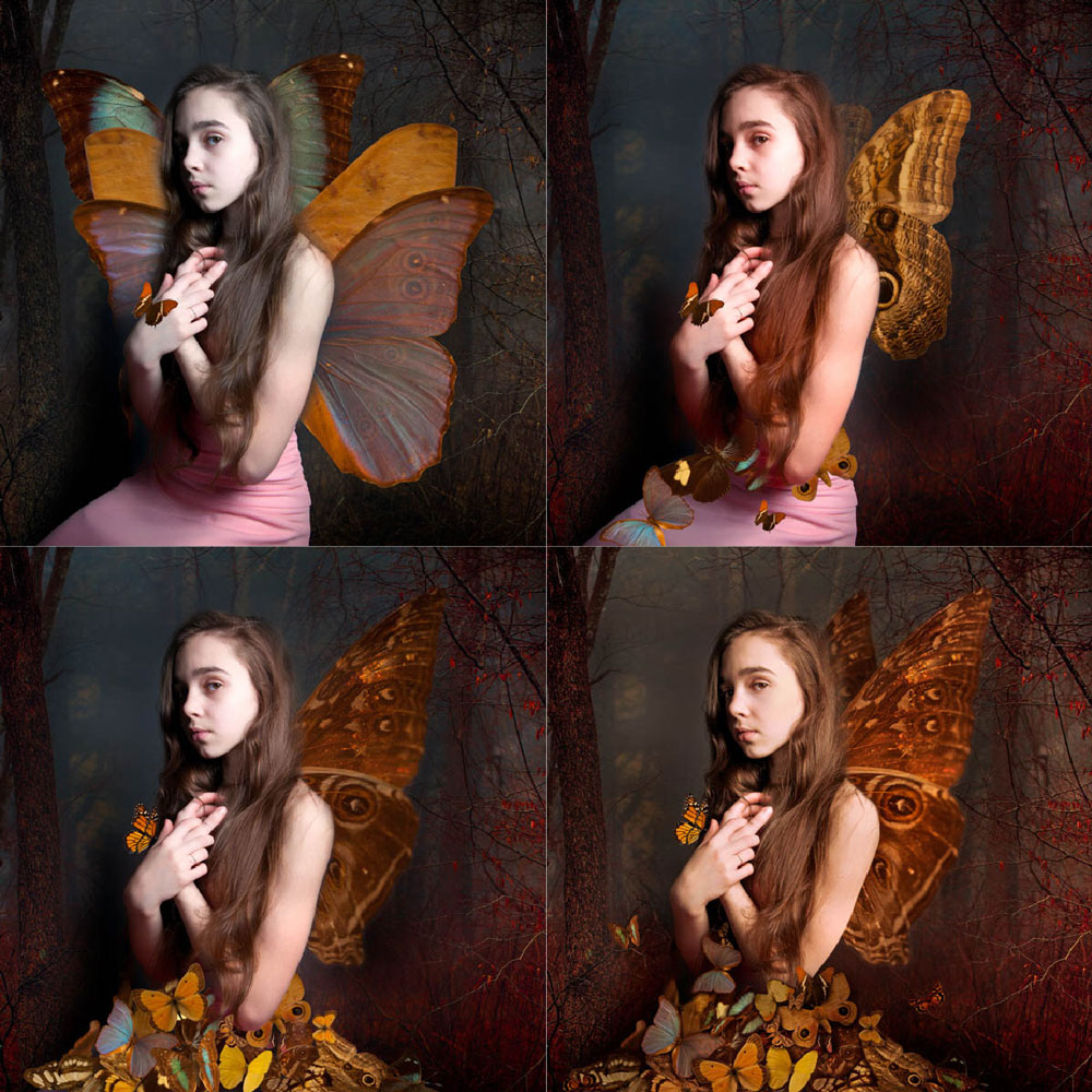 Abby-with-Butterflies-stages