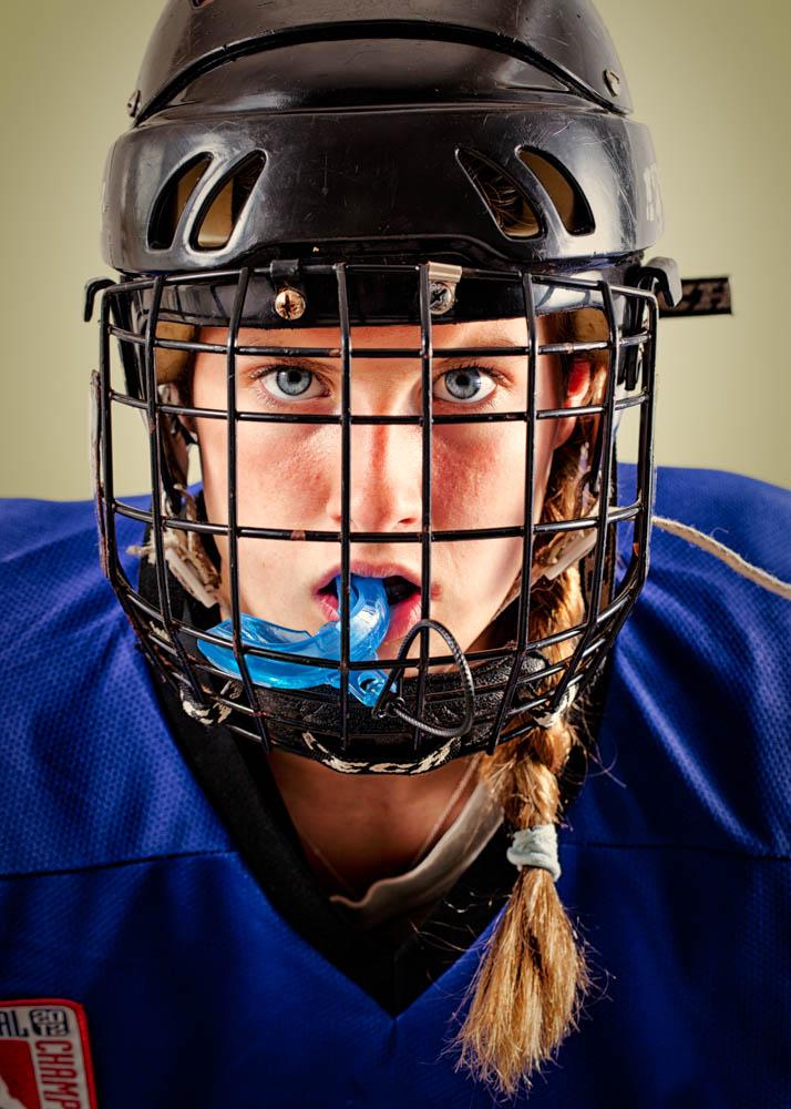 Tessa Mackey - Hockey Girl